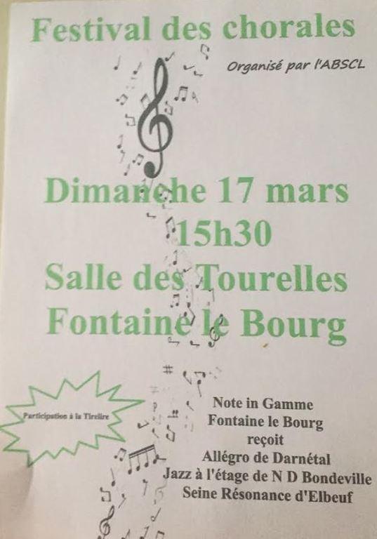 Concert Fontaine Le Bourg le 17 Mars 2019