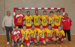 HAND-BALL  RENCONTRE ALBE SENIOR A   / ENTENTE GRAVIGNY MISEREY